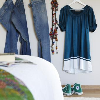 krokar jeans gröna converse