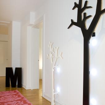madelene lägenhet malmö hall träd